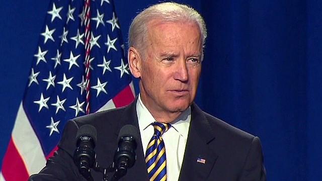 Biden speaks at LSC 40th anniversary