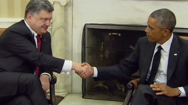 Obama meets with Ukraine's President