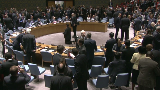 Diplomatic speed dating at the U.N.