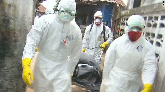 Desperation grows in heart of Ebola zone