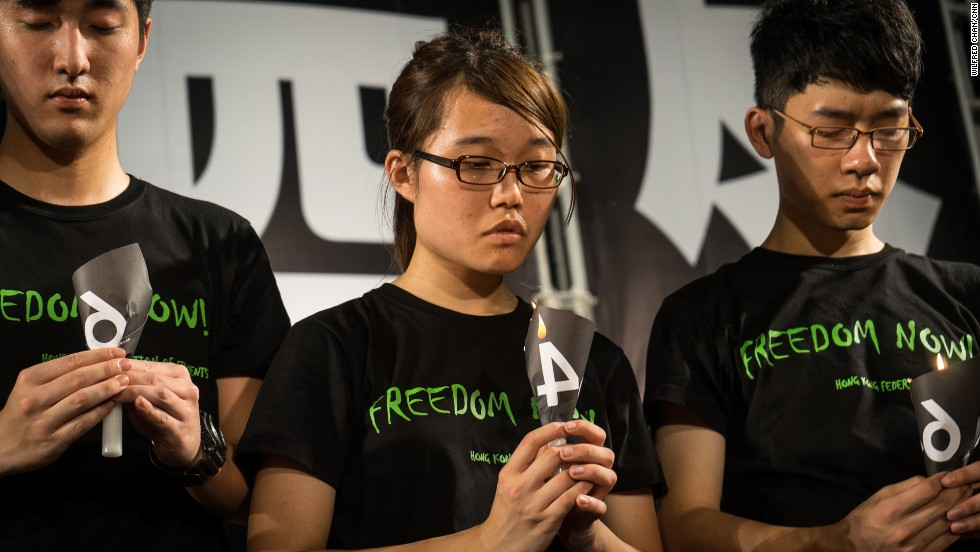 "Yvonne Leung, 20, is the president of the Hong Kong University Students Union. ""My main concern is to end one-party rule in China,"" she told CNN in June."