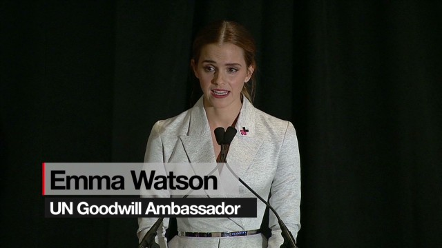 Emma Watson's stirring speech