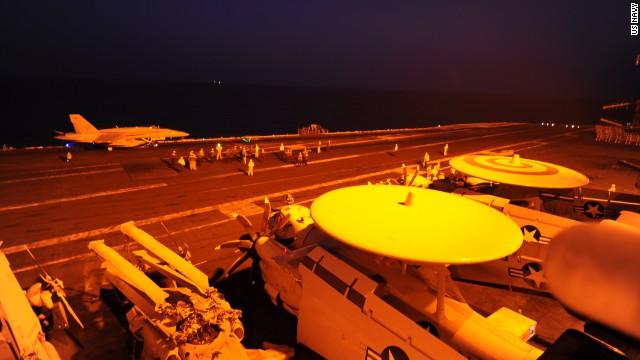 U.S. strikes Khorasan Group and ISIS