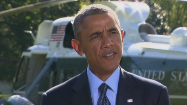 Obama: This is not America's fight alone