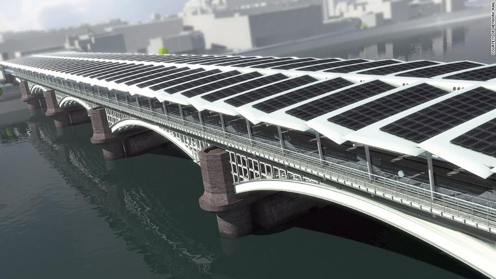 [组图] 伦敦黑衣修士桥 世界最大太阳能桥(15P) - 路人@行者 - 路人@行者
