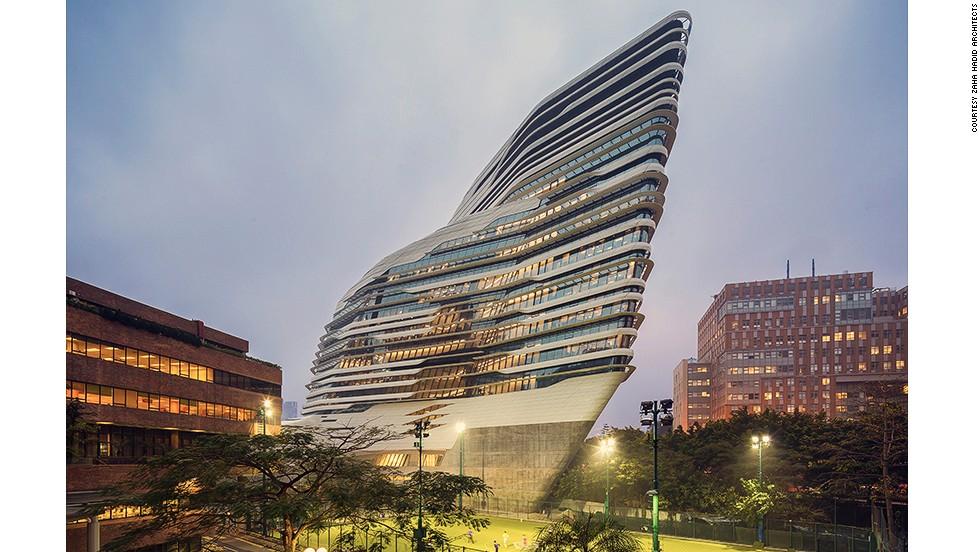 architecture festival horizontal tower buildings cnn singapore architects zaha hadid