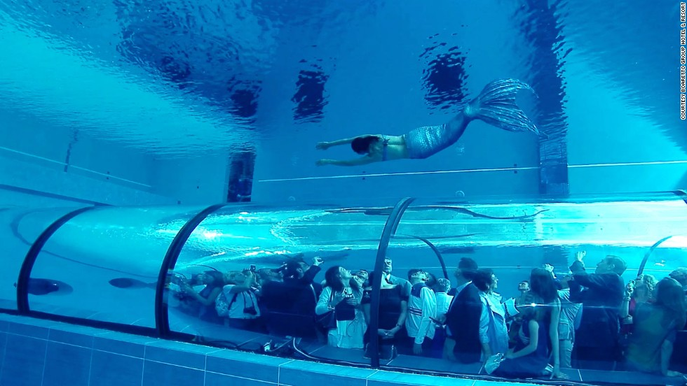 Dare To Dive Into The World 39 S Deepest Pool