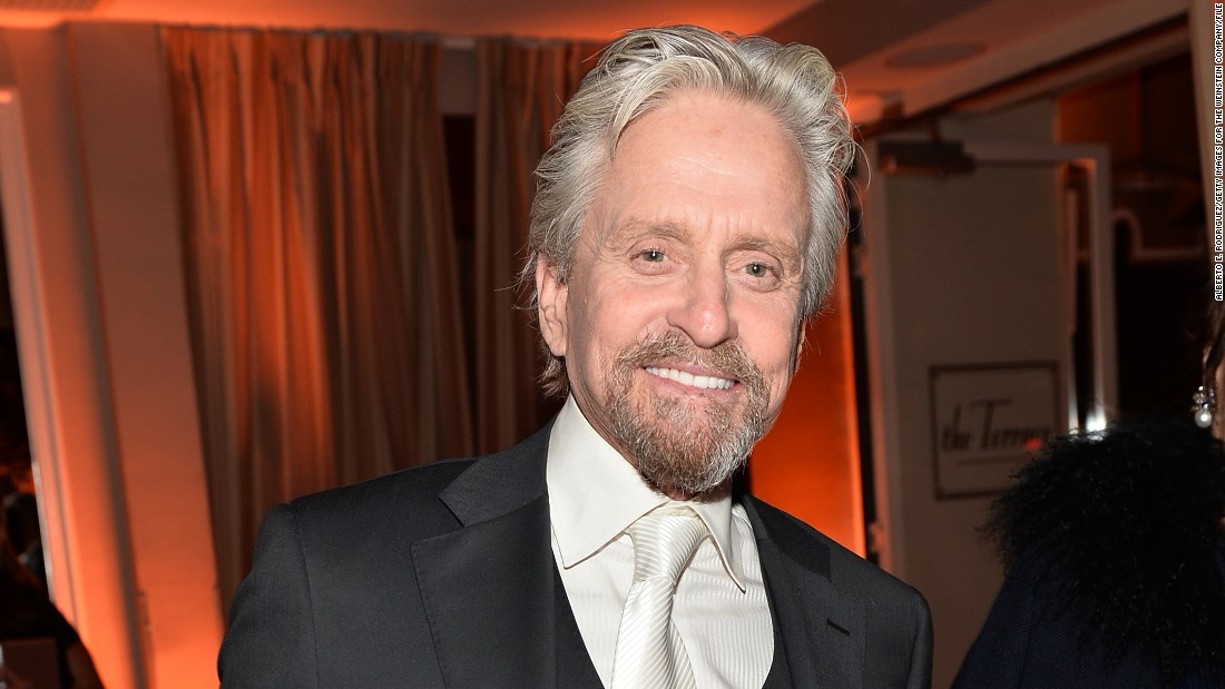 "Michael Douglas didn't identify as Jewish growing up but has taken a renewed interest in the religion as an adult. After his son faced some anti-Semitic insults, the actor called for people to confront anti-Semitism and <a href=""http://www.latimes.com/opinion/op-ed/la-oe-0315-douglas-anti-semitism-20150315-story.html"" target=""_blank"">wrote about the incident in a column</a>."