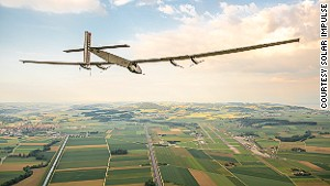 Solar plane faces most dangerous part of around-the-world flight