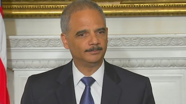 Holder: I come with 'mixed emotions'