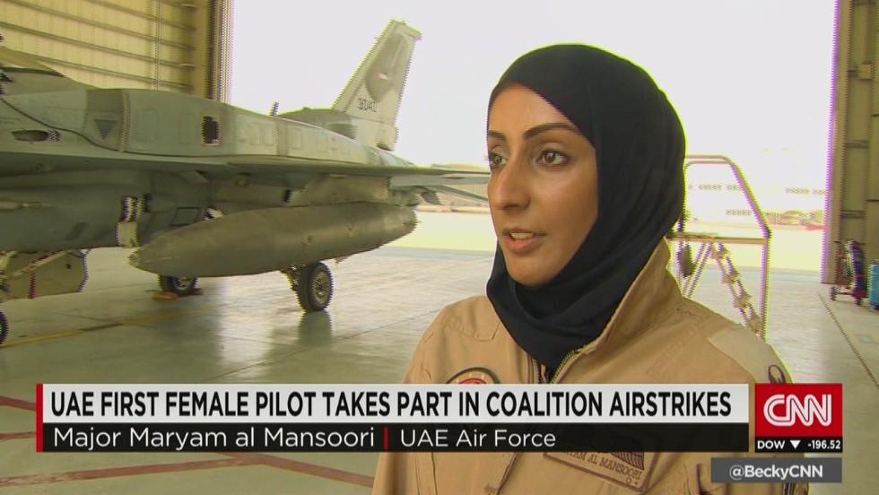 First female fighter pilot in UAE