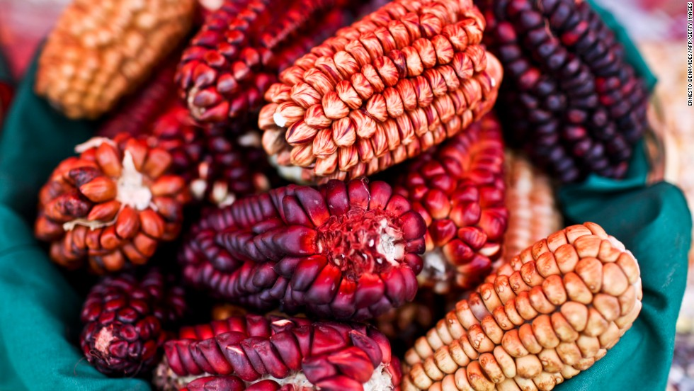 "Native ""cancha"" corn is an Andean snack popular in Peru. It's almost certain you won't find this at home."
