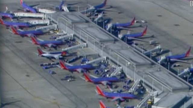 Suicide attempt slows Chicago airports