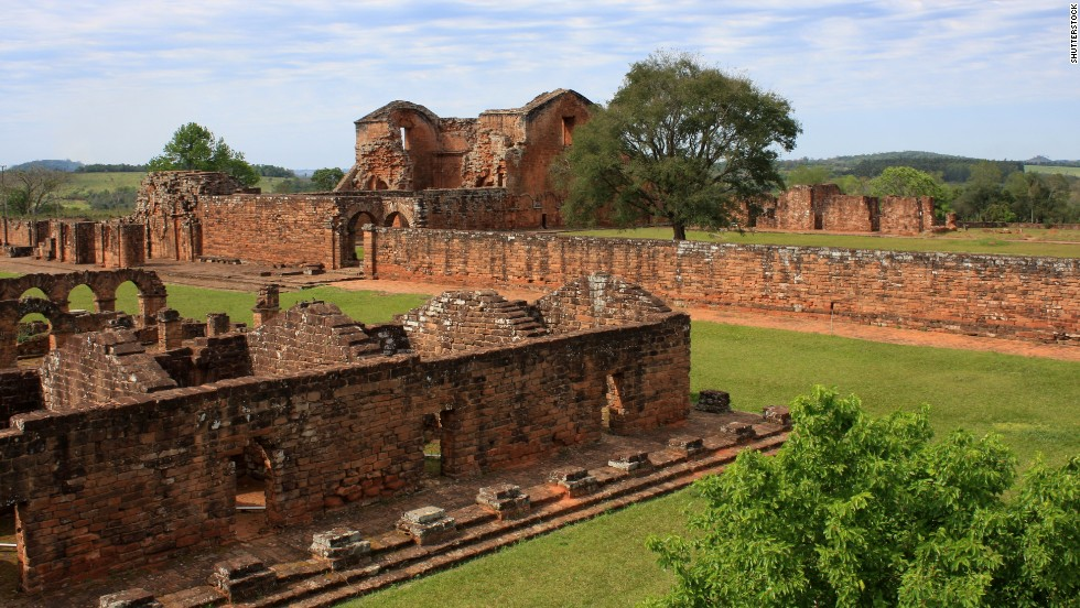 'Along the easterly Río Paraná, 17th and 18th-century Jesuit evangelists and their Guaraní converts built a string of missions. Paraguay's Misión Trinidad is a well-preserved example.' from the web at 'http://i2.cdn.turner.com/cnnnext/dam/assets/140926173106-04-paraguay-horizontal-large-gallery.jpg'