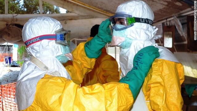 CDC: Ebola does not spread through air