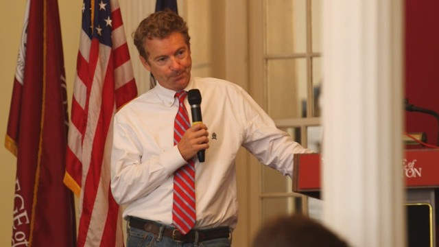 Rand Paul: 'Not opposed to birth control'