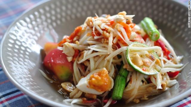Michelin announces 2015 nyc bib gourmand list for Aura thai fusion cuisine new york ny