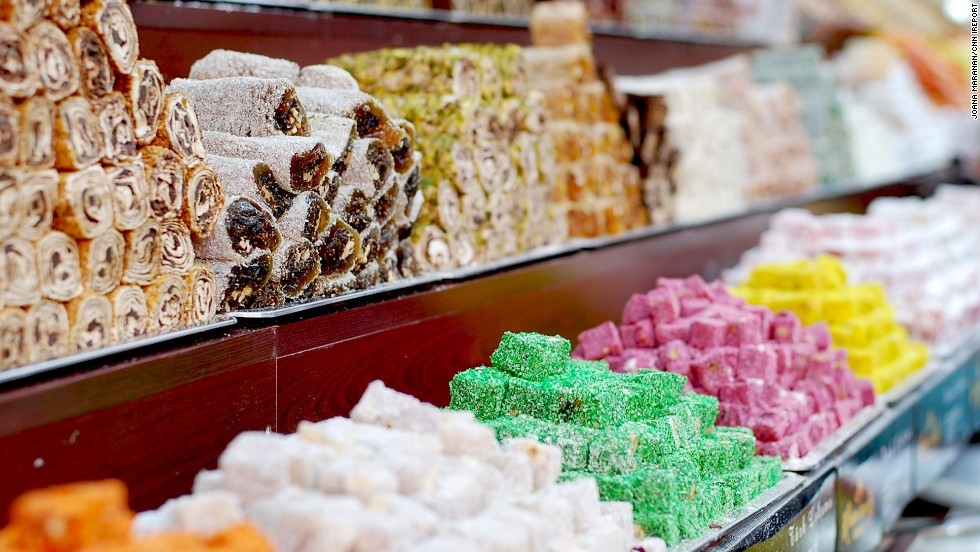 """Joana Maranan described Istanbul's Grand Bazaar as """"<a href=""""http://ireport.cnn.com/docs/DOC-1157941"""">a rainbow-colored candy heaven</a>."""" She captured this delectable sight during her honeymoon earlier this year in Turkey."""