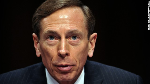 "CIA Director David Petraeus, testifies before the US Senate Intelligence Committee during a full committee hearing on ""World Wide Threats.""  on January 31, 2012 on Capitol Hill in Washington D.C."