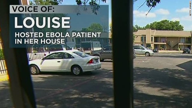 Partner of Ebola patient: Leave me alone