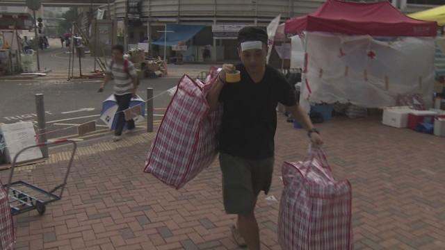 Who's powering the Hong Kong protests?