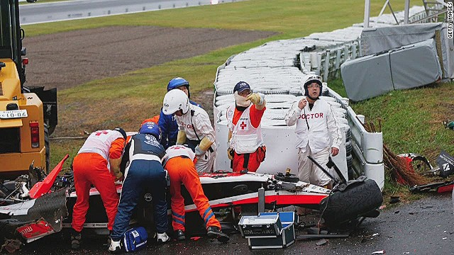 Bianchi family reveal F1 driver has suffered 'diffuse ...