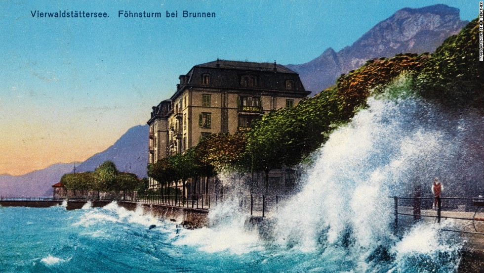 Well-traveled Zurich businessman Adolf Feller began collecting postcards in 1889 and soon amassed a large archive of images.