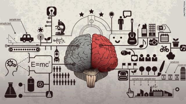 قسمت راست و چپ مغز وظایف متفاوتی انجام میدهند