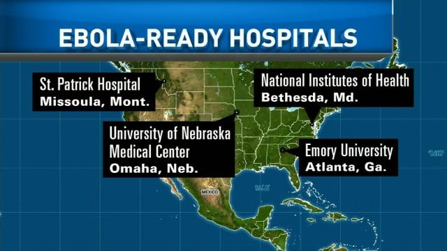 New Ebola screening protocols in the U.S