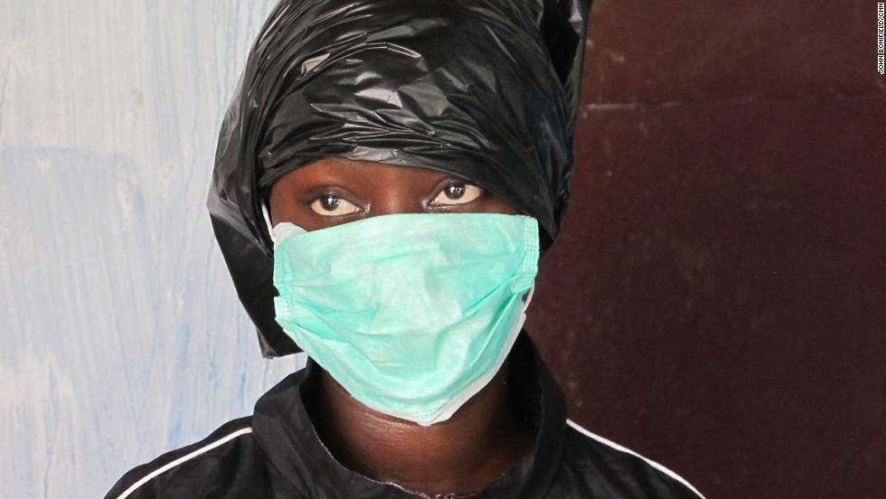 "Fatu Kekula has cared for four family members who had Ebola, <a href=""http://www.cnn.com/2014/09/25/health/ebola-fatu-family/"">keeping three alive</a> without infecting herself using trash bags, rubber boots and a mask."