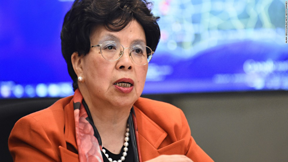 "<a href=""http://www.who.int/dg/chan/en/"" target=""_blank"">Dr. Margaret Chan</a> has been the World Health Organization's director-general since 2006. Originally from China, she has a strong background in communicable diseases and infection control."