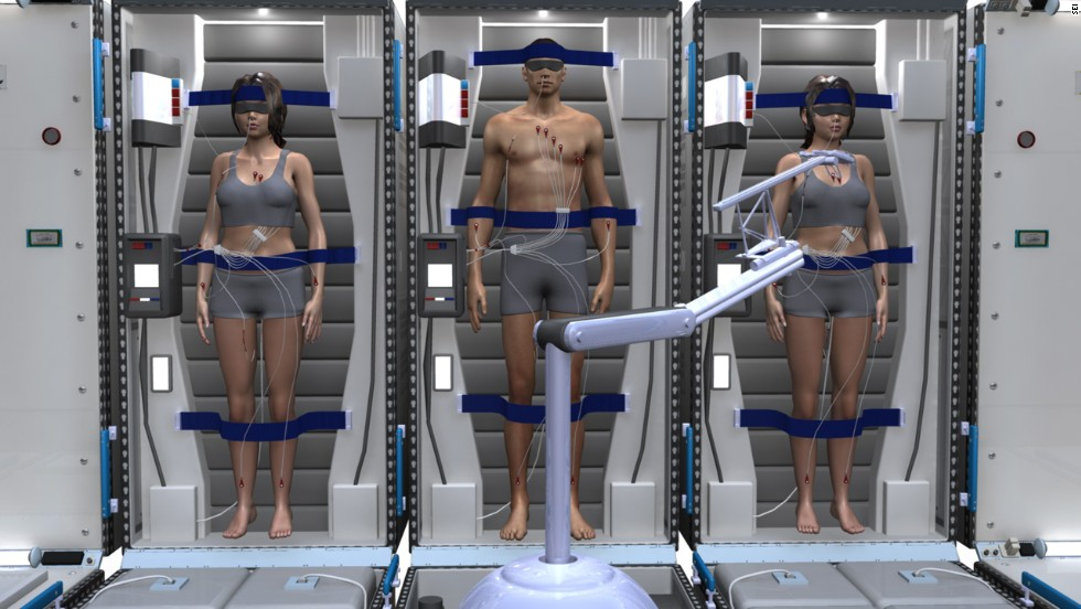 Hibernation space ship could carry first humans to Mars ...