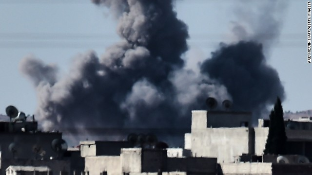 Pentagon: Airstrikes won't save Kobani