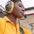 Patricia Mawuli first female pilot Ghana