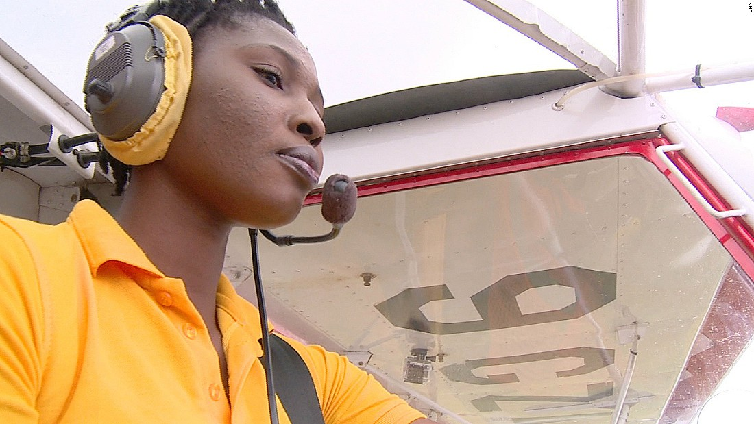 Patricia Mawuli is Ghana's first female civilian pilot and the first woman in West Africa certified to build and maintain rotax engines.