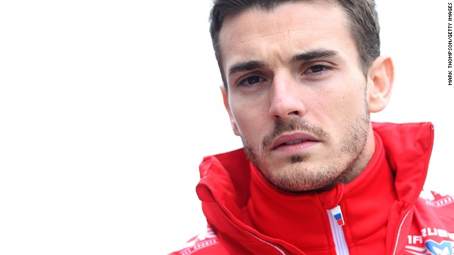 SHANGHAI, CHINA - APRIL 20: Jules Bianchi of France and Marussia walks across the paddock prior to the Chinese Formula One Grand Prix at the Shanghai International Circuit on April 20, 2014 in Shanghai, China. (Photo by Mark Thompson/Getty Images)