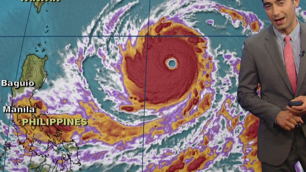 Super Typhoon Vongfong eying Japan