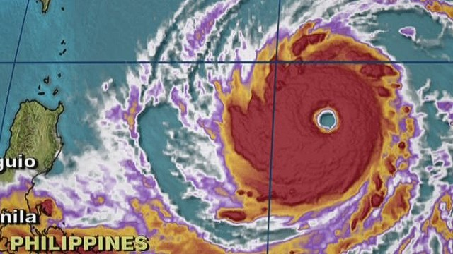 Super Typhoon Vongfong eying Japan