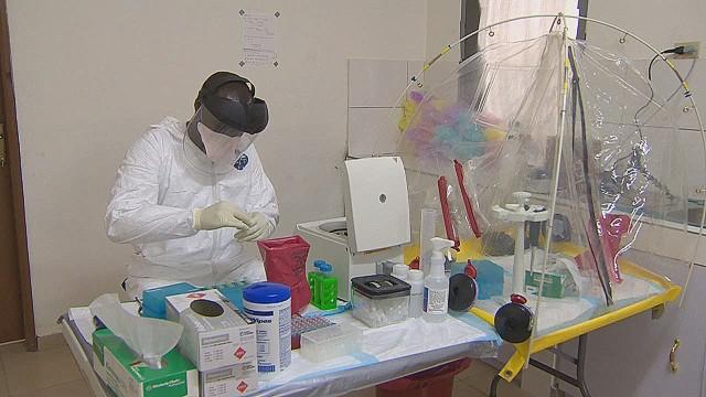 U.S. Ebola labs open in Liberia