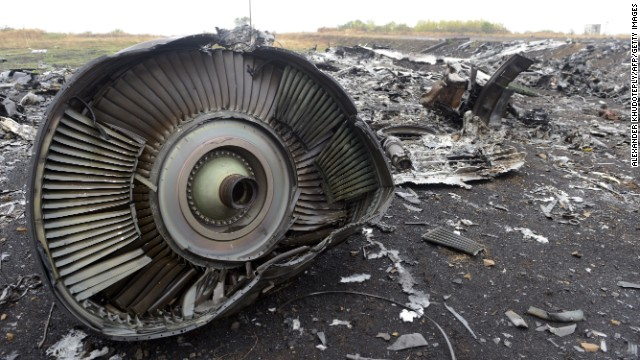 Malaysia Airlines Flight 17 crashes in Ukraine