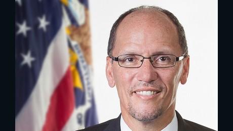 Secretary of Labor Tom Perez