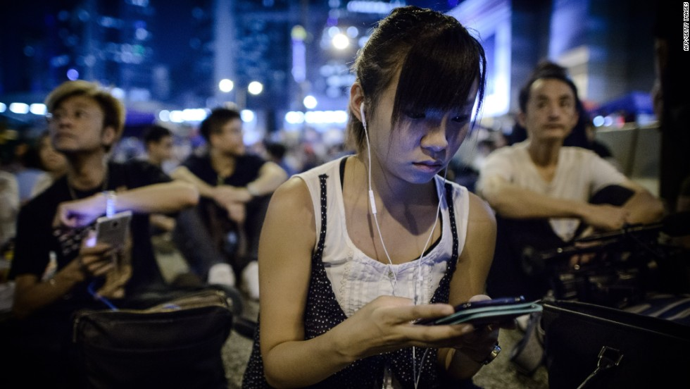 In the first two weeks of the protests, between September 27 and October 10, the service registered 500,000 downloads in Hong Kong alone, 10.2 million chat sessions and 1.6 million chatrooms.