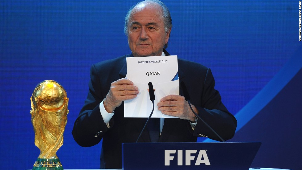 Russia and Qatar, the hosts of the two World Cups, have been cleared of allegations of corruption by FIFA. Russia, the 2018 host and Qatar, which will host the tournament in 2022, were absolved of wrongdoing.