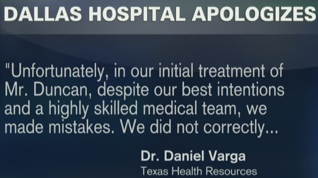 Texas hospital apologizes, is it enough?