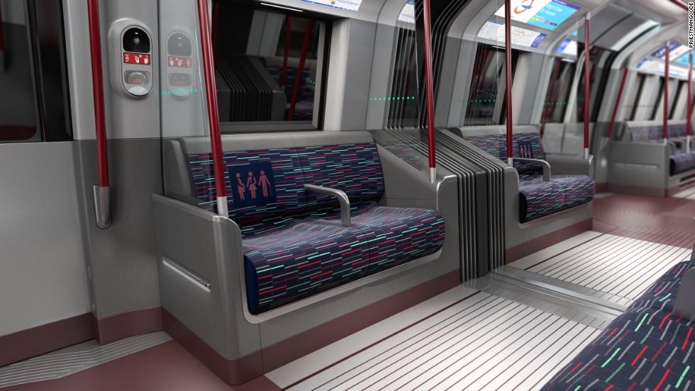 Futuristic Train Interior Meet London's futurist...