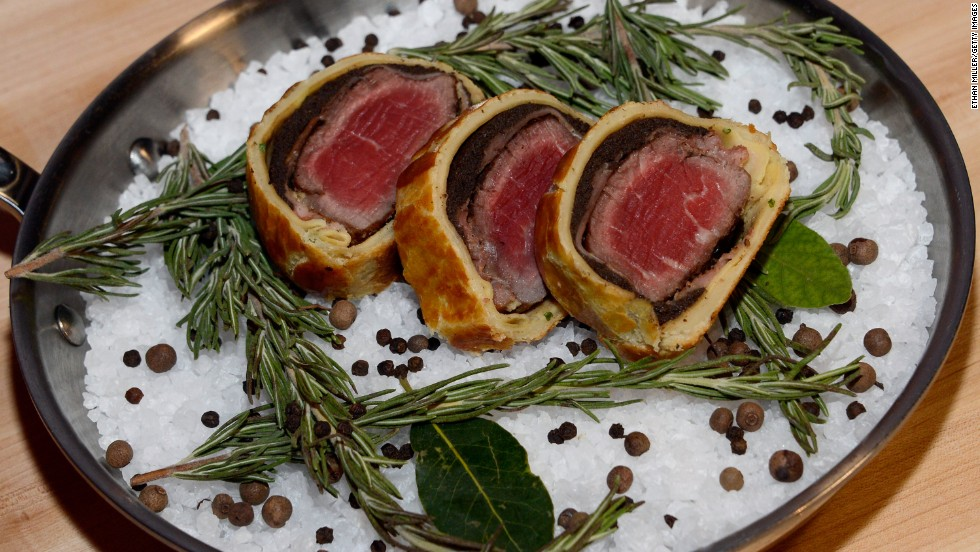 Las Vegas is loaded with celebrity-chef steakhouses. This beef Wellington comes from the Gordon Ramsay Steak at the Paris Las Vegas.