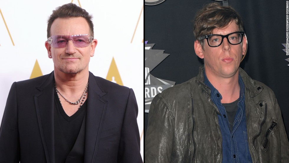 "Add Black Keys drummer Patrick Carney, right, to the list of musicians unimpressed with U2's attempt to give away an album on iTunes. <a href=""http://blogs.seattletimes.com/soundposts/2014/10/15/black-keys-drummer-patrick-carney-u2-and-spotify-devalue-music/"" target=""_blank"">Carney told The Seattle Times</a> that he believes the band, fronted by Bono, ""devalued their music completely"" by offering the new release ""Songs of Innocence"" as a free download to iTunes subscribers."