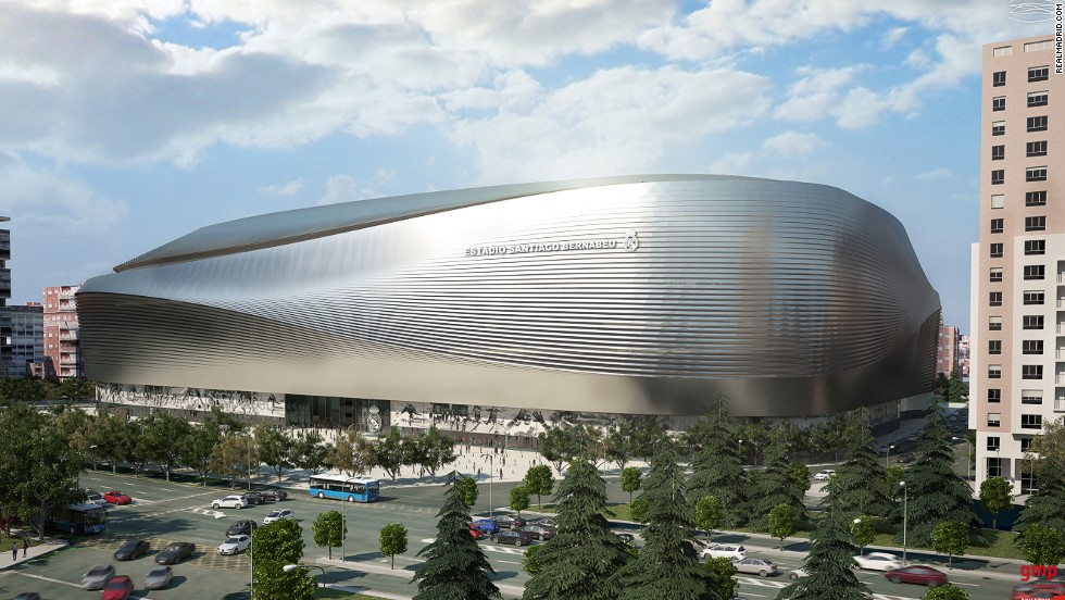 A pedestrian circuit on the ground level of the stadium will give a pictorial and factual history of Real Madrid.