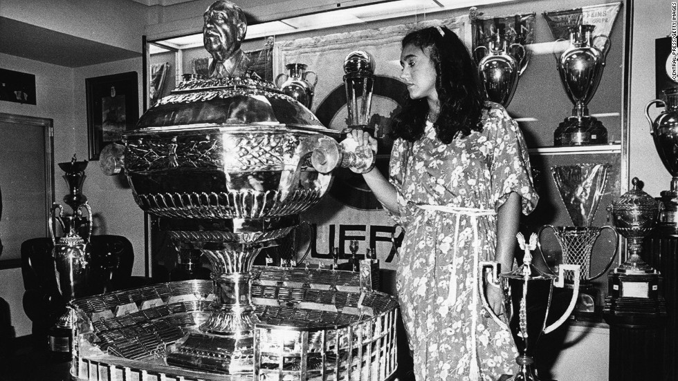The Santiago Bernabeu Cup was named in 1979 after the Madrid president following his death.