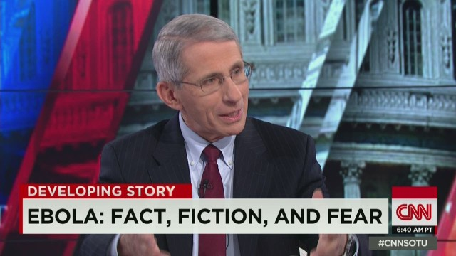 Dr. Fauci on Ebola facts, fiction and fear